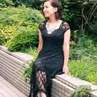 Chic lover boho lace dress
