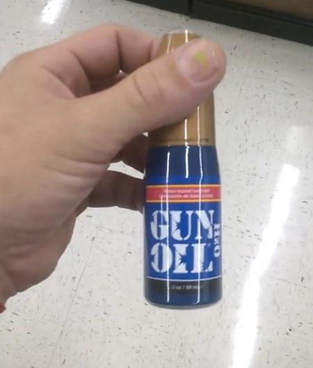 walmart gun oil