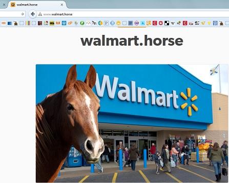 walmart horse