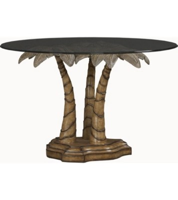 palm breeze round dining table havertys kitchen tables Main Palm Breeze Round Dining Table Image