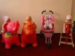 všechny čtyři panenky pohromadě