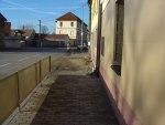 chodník - oraniště - chodník