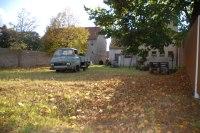 zahrada v říjnu 2008