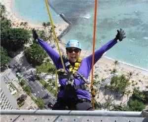 Over the Edge 1 - Photo credit to Special Olympics Hawaii