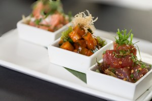 Roy's Waikiki Sunset Menu - Waikiki Poke Trio