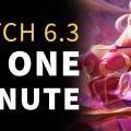 1分でわかるPatch 6.3