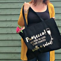 Prosecco Tote From Coconutgrass