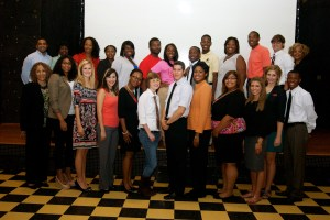 "Participants at the roundtable discussion ""Race: A Millennial Generation's Perspective"" (Ciley Carrington)"