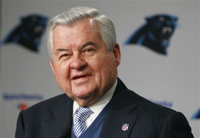Jerry Richardson Carolina Panthers Owner Donates 250 000