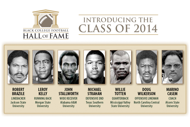 Black College Football Hall Of Fame: Introducing the Class of 2014
