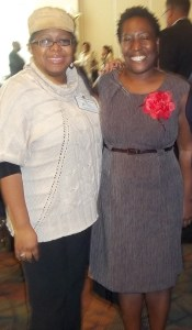 (l to r): Dr. Preselfannie Whitfield McDaniels and Naykishia Head.