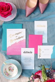 WedLuxe Wedding Invite Set