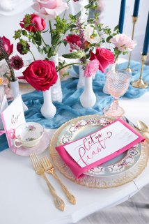 Wedding Guest Place Setting
