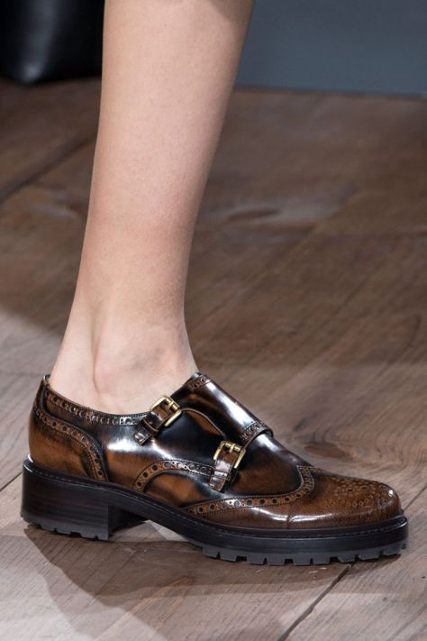 Leave it to Michael Kors to take our favorite collegiate brogues and make them perfectly suitable today for sashaying into the office and then out for cocktails.