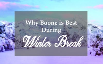 Students: Why you should stay in Boone for winter break