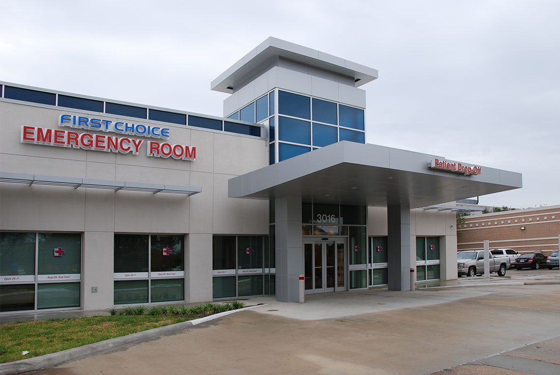Harper Clayton Construction | First Choice Emergency Room Aluminum ...