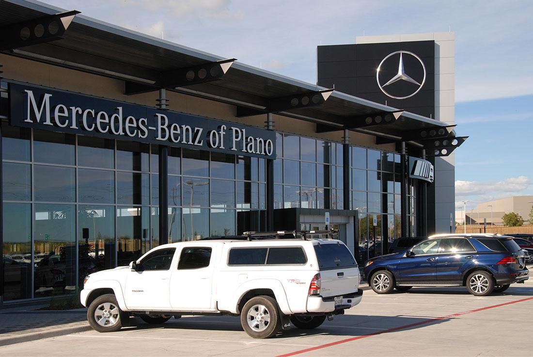 Charming Harper Clayton Construction | Mercedes Benz Of Plano Aluminum Composite  Panels