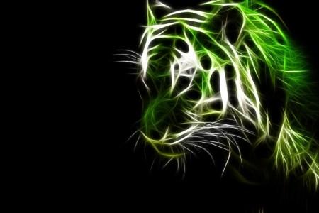 black and green art 7 high resolution