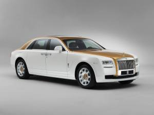Rolls-Royce-Ghost-Golden-Sunbird