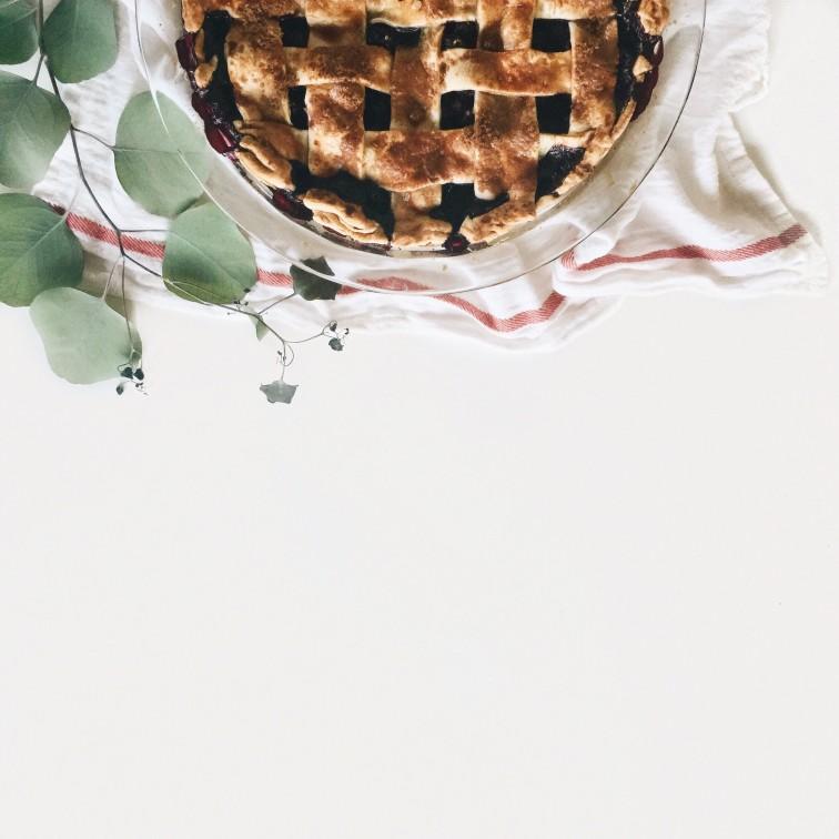 Blueberry Basil Pie - Headed Somewhere Blog