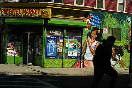Neighborhood bodega, corner store, local market