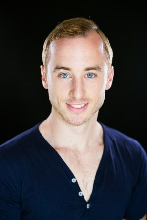 male actor heashot examples