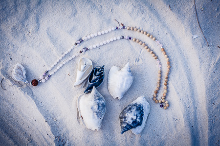 seashells and mala