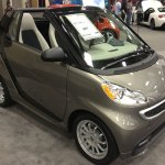 SmartCar (Smallest automobile at the show)