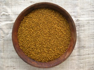 Apiary bee pollen