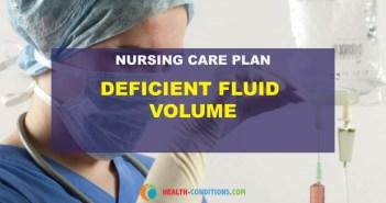 nursing care plan for deficient fluid volume