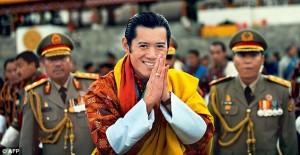 Jigme Khesar Namgyel Wangchuck- Current President of Bhutan