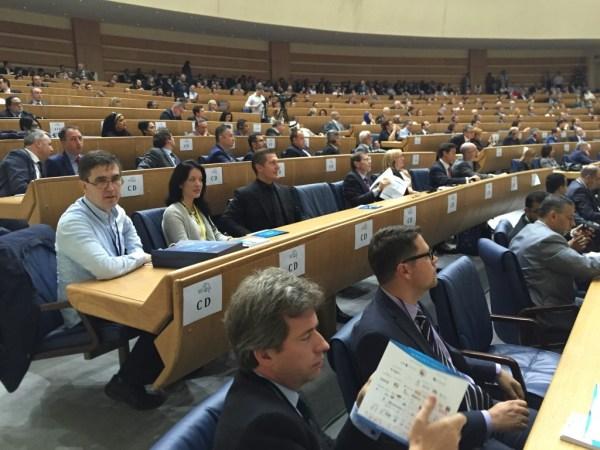 Samir Becic attending the forum