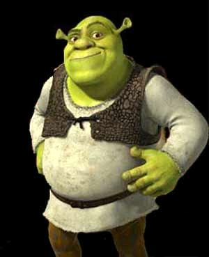 shrek1 Stand Up Straight...your posture is making you look short and fat