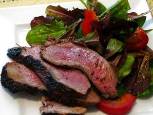 meat and salad 5 Steps to a Healthy   Fat Melting Meal Plan