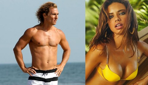adriana lima matthew mcconaughey Having trouble sticking to your diet?