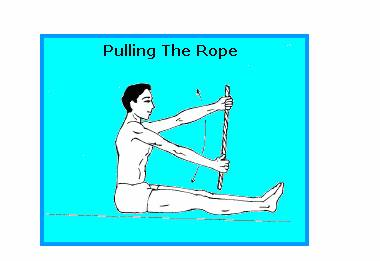 PULLING THE ROPE
