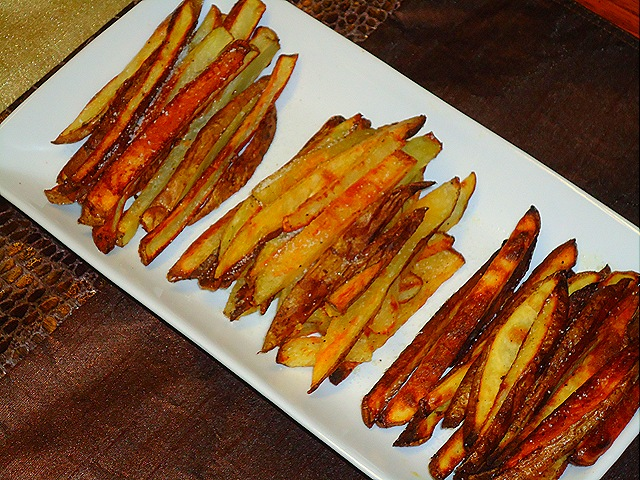 Taste Test Tuesday: Crispy Oven Baked Fries (2/6)