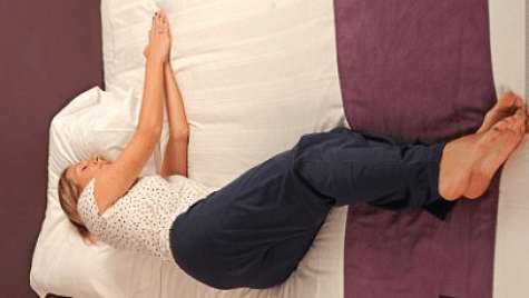 Yearner sleep position