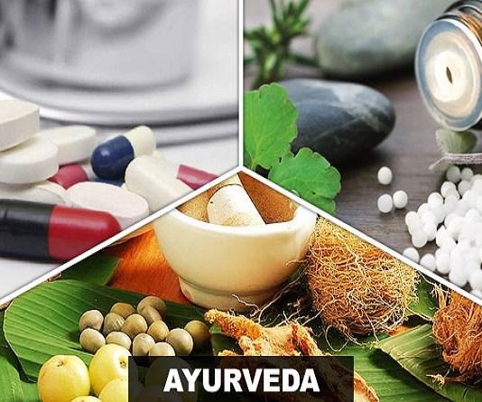 Allopathy, Homeopathy and Ayurveda
