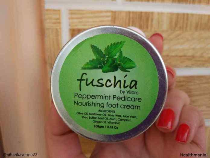 Fuschia Peppermint Pedicare Cream