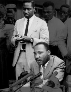Martin Luther King Jr in Detroit 1963