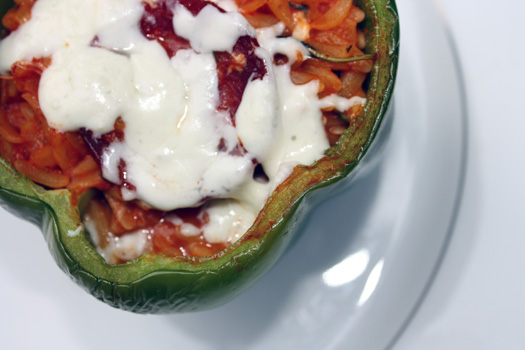 pizza stuffed pepper 2