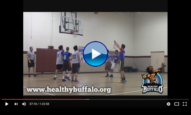 High School Basketball League Video Graphic