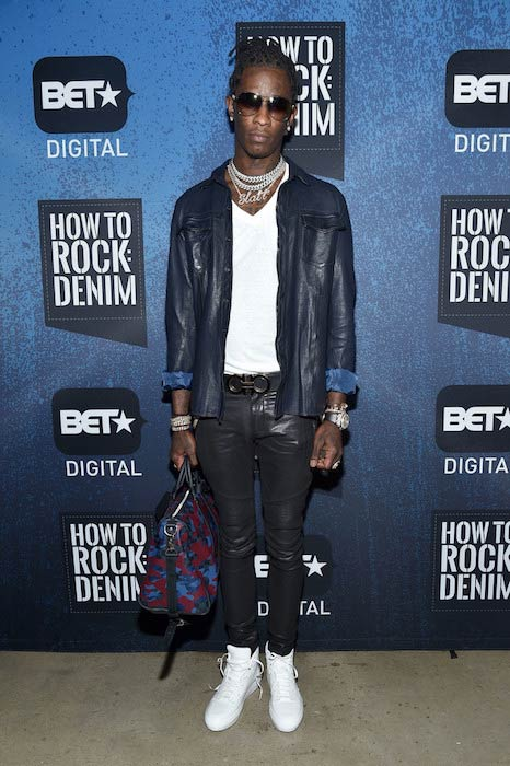 Young Thug Height Weight Body Statistics Biography   Healthy Celeb Young Thug at the BET  How To Rock Denim in August 2016