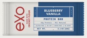 exo bars blueberry