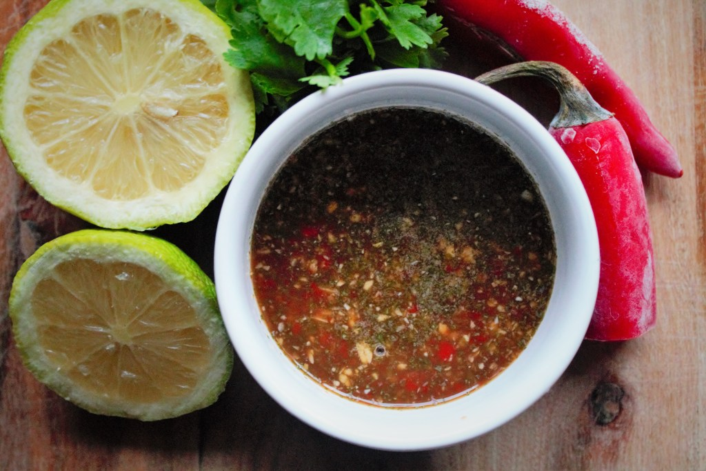 chilli- lime marinade
