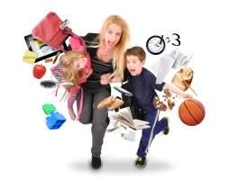 busy mom
