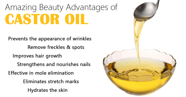 Beauty Advantages of Castor Oil