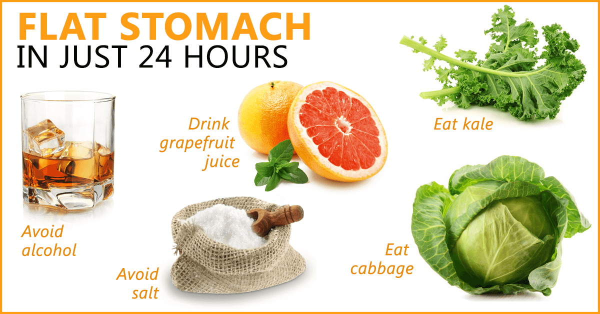 Flat Stomach 24 Hours