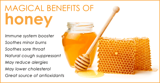 honey is the best cure
